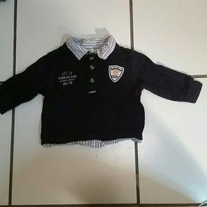 Timberland 0-6 months shirt